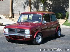 Mini Mini 1275 Fancy Cars, Retro Cars, Vintage Cars, Cool Cars, Classic Mini, Classic Cars, Old Lorries, Mini Clubman, Mini S