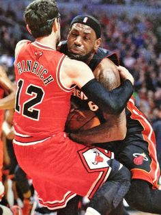 I will never forget this moment during the '12 playoffs when Kirky took Lebron down. And almost killed himself in the process!