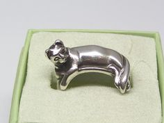 Sterling Silver James Avery Cat Ring