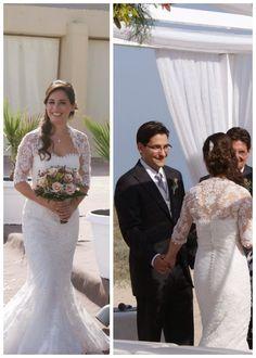 La boda de Claudia y Migue. Fotos de la ceremonia civil . Ceremonia de boda civil en la playa. Boda de otoño en la playa. En l'Estibador. Playa de El Saler, Valencia. #Bodaenlaplaya