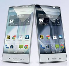 Sharp Aquos Crystal 5 exclusively from Sprint!