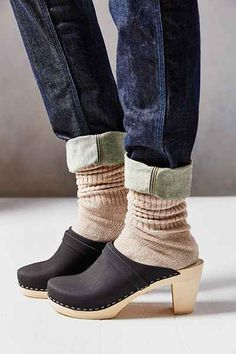 Maguba Stockholm Wood Bottom Clog - Urban Outfitters