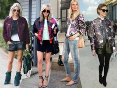 how to style a bomber jacket - Google Search