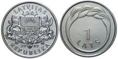 Latvian Lats Namejs Ring Coin year 2009
