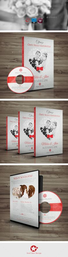 Wedding DvdCd Cover Templates — Photoshop PSD #corporate #family • Available here → https://graphicriver.net/item/wedding-dvdcd-cover-templates/10086406?ref=pxcr
