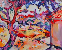 George Braque-filled with beautiful, stunning colour!