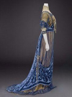 Вечернее платье, около 1912 г. Girolamo Giuseffi (1864-1934) Indianapolis Museum of Art