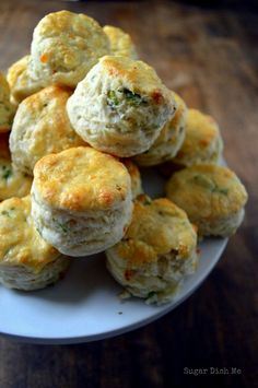 Savory Scones with Spring Onions and Cheddar