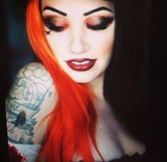 Ash Costello #pretty #inked #new years day