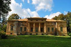 The Konopi mansion in Odvoș, Arad county, Romania http://monumenteuitate.blogspot.ro/2011/09/palatul-teleki-din-gornesti.html