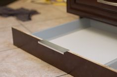 IKEA Hackers: Super Secret Toekick Drawer for Kitchen Cabinet