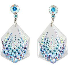 Shop for Aurora Collection Gamma Corvis Earrings by Tarina Tarantino at ShopStyle. Swarovski Crystal Earrings, Crystal Jewelry, Heart Shaped Earrings, Drop Earrings, Tarina Tarantino, Cute Jewelry, Statement Jewelry, Heart Shapes, Jewels