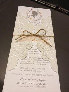 Jane Austen Pride & Prejudice Invitation por RaindropLollipops