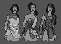 Redesign: 'Ancient Greek' Wonder Woman by Fay-san Ancient Greek Dress, Ancient Greek Costumes, Ancient Greek Clothing, Ancient Greece, Ancient Greek Art, Greek Drawing, Warrior Costume, Greek Fashion, Greek Warrior
