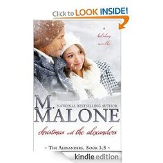 I like the layers of the background. I like it has series name. -- Amazon.com: Christmas with The Alexanders eBook: M. Malone: Kindle Store