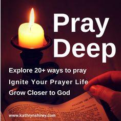 Pray Deep - with free prayer cards