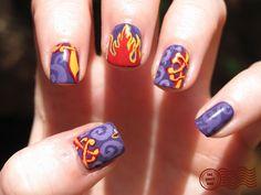 The Daily Nail Aladdin Magic Carpet Themed Nails!