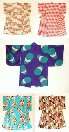 no pattern but ideas for designs only....for .....kimonos