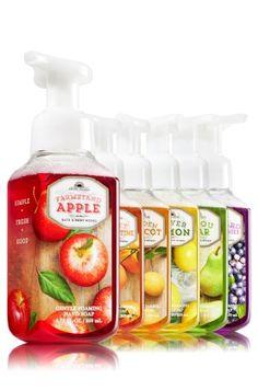 Fall Fresh Picked Gentle Foaming Hand Soap Bundle - Anti-Bacterial - Bath & Body Works