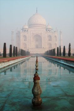 The Taj Mahal is a white marble mausoleum located in Agra, Uttar Pradesh, India. It was built by Mughal emperor Shah Jahan in memory of his third wife, Mumtaz Mahal. #Travel #Photography