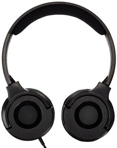 AmazonBasics On-Ear Headphones - Black  Designed with cushioned, pressure-relieving ear pads that rest comfortably on the ears--versus completely covering the ears, the perfectly portable headphones offer sleek style and an excellent on-the-go choice for keeping you in synch with sound that inspires.  #picsandpalettes #headphone #dealoftheday #Amazon