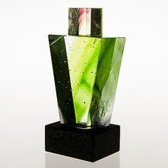 GÖRAN WÄRFF, SKULPTUR, glas på stensockel, signerad, Memories-serien. Kosta Boda. - Bukowskis Glass Art, Vase, Home Decor, Sculptures, Boden, Decoration Home, Room Decor, Jar Art, Jars