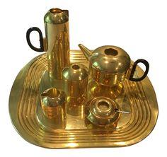 Tom Dixon Eclectic Form Tea Set - Set of 7 on Chairish.com