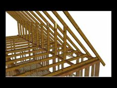 Using Walls Instead of Purlin Braces to Support Roof Rafters – Attic Remodeling Tips - YouTube