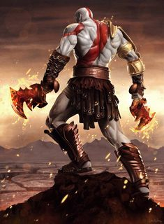 Kratos - God of War Drake - Elysium - Sheridan Johns