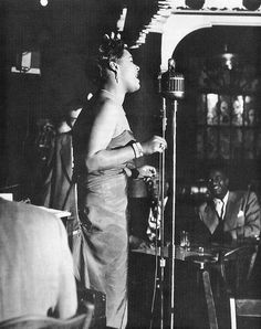 Billie Holiday, Storyville, Copley Square Hotel, Boston, October photo by Bob Parent Billie Holiday, A Love Supreme, Strange Fruit, Bless The Child, Old School Music, Walking In The Rain, Miles Davis, Jazz Musicians, Jazz Blues