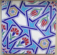 IZNIK CERAMIC TILE with Traditional Kutahya by MineHomeDecoration