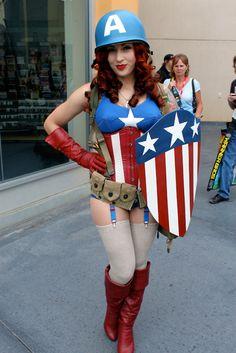 Miss Captain America