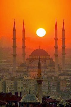 Istambul Sunset, Turkey
