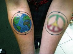 Gallery For > Earth Tattoo Erde Tattoo, Tattoo Ideas, Tattoo Designs, Fish Tattoos, Earth, Google Search, Gallery, Design Tattoos, Tattooed Guys