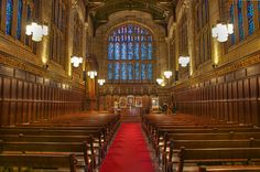 Bond Chapel at University of Chicago