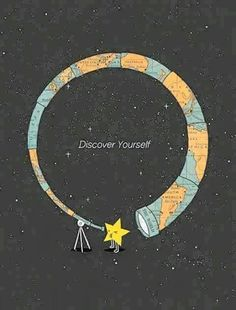 Discover yourself.