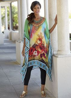 There's no better time for an ethereal dress like a caftan than the spring and summer.