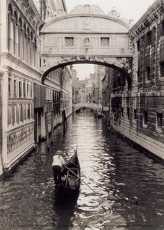 Venice, Italy-it has always been my dream to ride in a gondola.  Maybe someday!!