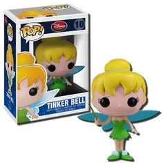 Funko POP! Disney Series 1 Vinyl Figure Tinker Bell by Funko. $11.53. Tinker Bell returns in vinyl form as the tenth character to join Funko and Disneys POP! Series 1 figurine collection. Made of high quality vinyl and measuring four inches tall, Tinker Bell is musthave in any collectors showcase! Collect all 12!
