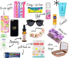 FESTIVAL SURVIVAL KIT 2016 | spark{le} Need some festival packing tips? Check out what you NEED so you can last all day & night! #style #styleblog #coachella #coachella2016 #festivalstyle