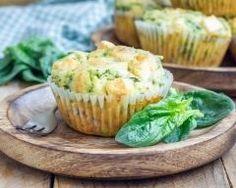 Muffins épinards-mozzarella