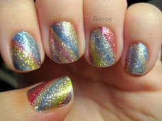 Goose's Glitter: Incoco Design Strips Swatch and Review