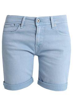 ac6ecd9523657 Pepe Jeans POPPY - Denim shorts - ultra blue - Zalando.co.uk Pepe