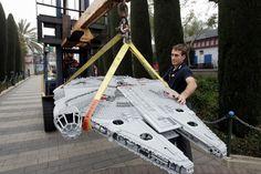 HUGE LEGO Millennium Falcon