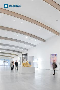 Undisturbed surfaces often requested by architects makes it difficult to control acoustics or provide easy access to technical installations in the ceiling void. At Astrup Fearnley Museet in Oslo, it was important to have a ceiling that was neutral and strong in acoustic #performance. The quality of the Rockfon® Mono® Acoustic ceiling enabled us to achieve what we wanted, both technically and architecturally. Rockfon understands #architecture. #SoundsBeautiful #museeum #design… Ceiling Design, Wall Design, Acoustic Design, Visual Comfort, Oslo, Minimalist Design, Easy Access, Architects, Neutral