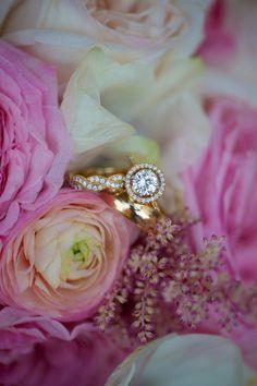 http://www.StyleMePretty.com/little-black-book-blog/2014/01/10/dar-headquarters-pink-gold-wedding/  Rebekah Hoyt Photography