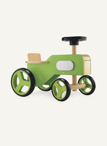 Wooden Tractor Ride On