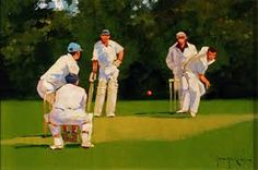 Image result for cricket match Cricket England, Baseball Field, Baseball Cards, Play N Go, Cricket Match, Sports, Painting Art, Paintings, Image