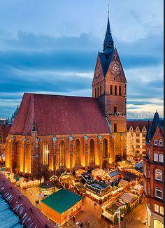 Market church, Hannover, #Germany.