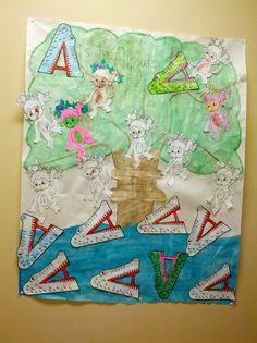 "Poster for ""Mr. Alligator song"" aka 5 little monkeys 5 Little Monkeys, Preschool, Quilts, Blanket, Projects, Poster, Log Projects, Blue Prints, Kid Garden"